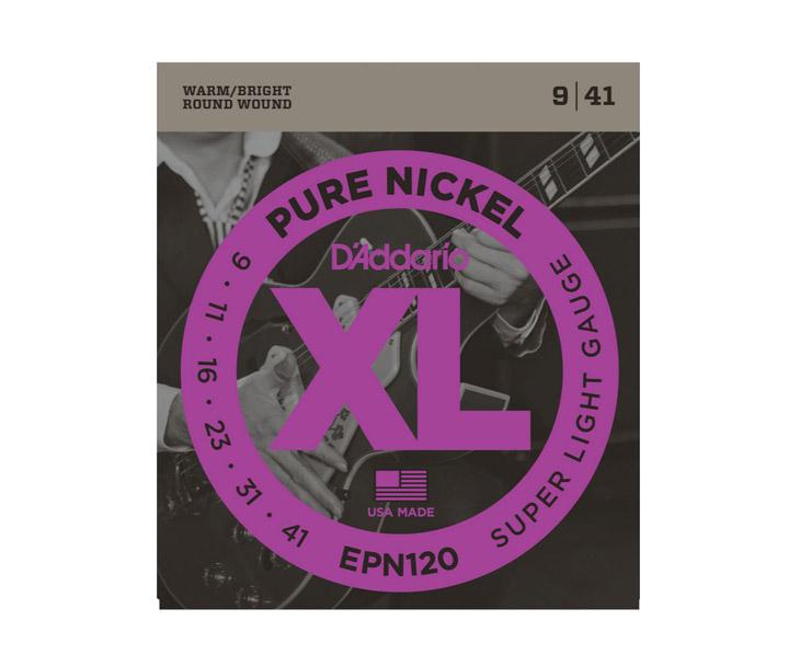STR.-EL.KYT. 009,D ADDARIO,Pure Nickel