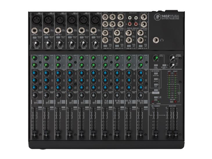 MIXPULT-MACKIE 1402VLZ4,6x mic.,4x stereo