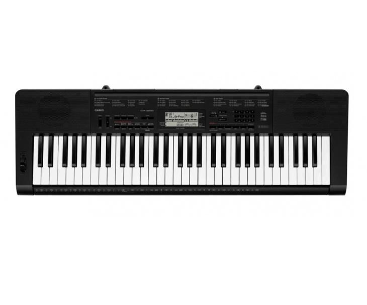 KEYBOARD-CASIO CTK-3200,5 okt.dyn.MIDI