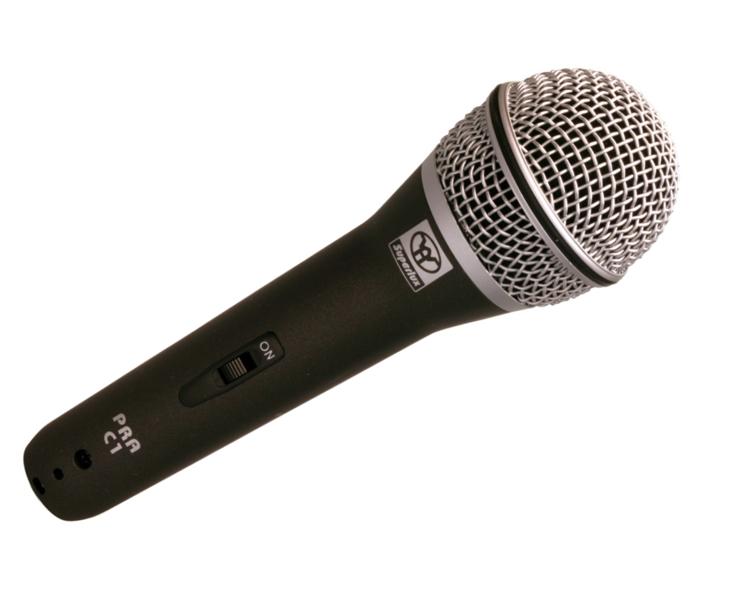 MIKROFON-SUPERLUX dynamický zpěvový s vypínačem