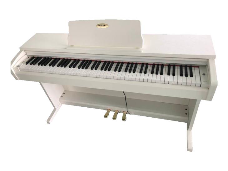 PIANO DIG.-SUZUKI HP-3X,88 kláves,bílé