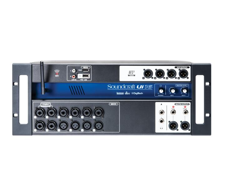 MIXPULT-SOUNDCRAFT Ui16, 12x mic.,4x aux,wifi