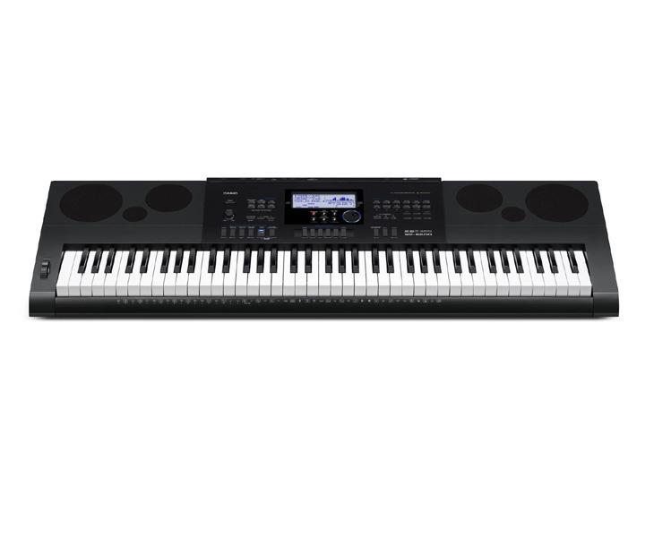 KEYBOARD-CASIO WK-6600,76 kláves,adapter