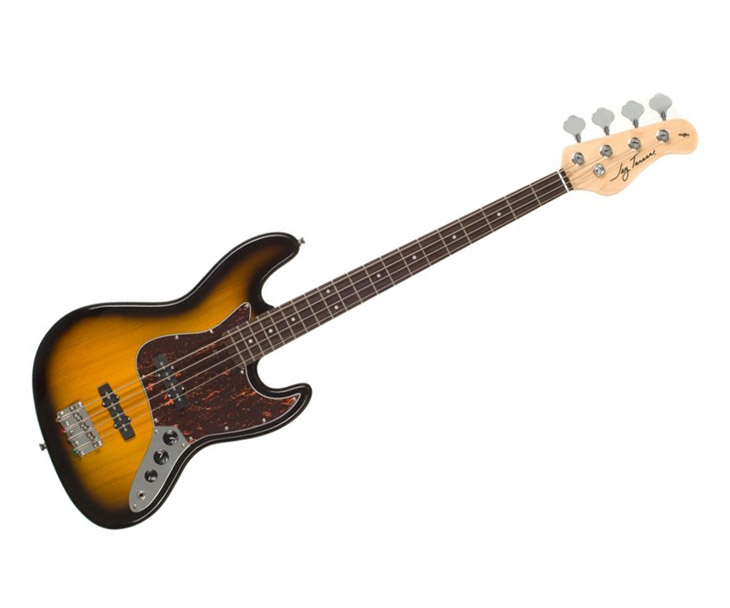 BASKYTARA-JAY TURSER 4Str.Jazz Bass,Trans. sunburst