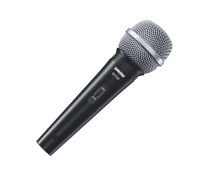MIKROFON-SHURE SV-100,dynamický,zpěvový