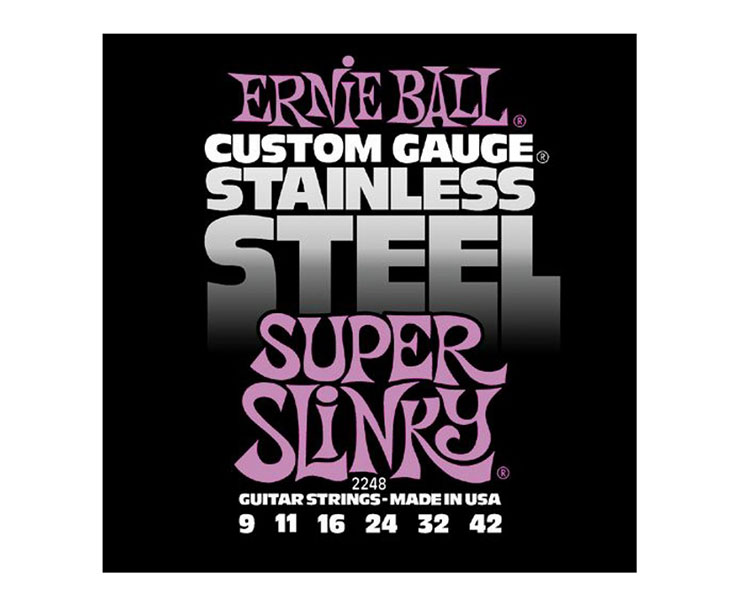 STR.-EL.KYT. 009,ERNIE BALL,Stainless Steel