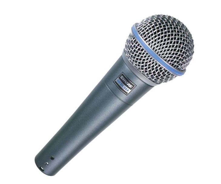 MIKROFON-SHURE BETA-58 A,dynamický,zpěvový