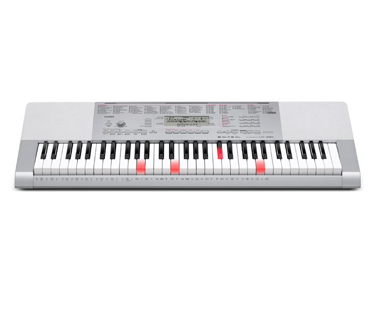 KEYBOARD-CASIO LK-280,61kl.dyn.MIDI