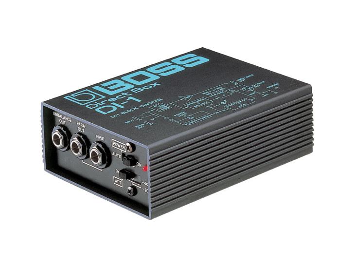DI-BOX-BOSS DI-1,aktivní di-box