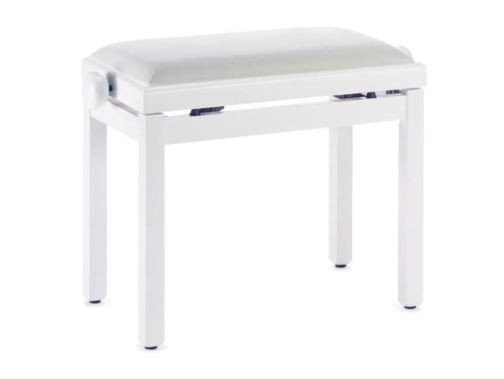 STOLICKA-STAGG ke klavíru,bílá matná