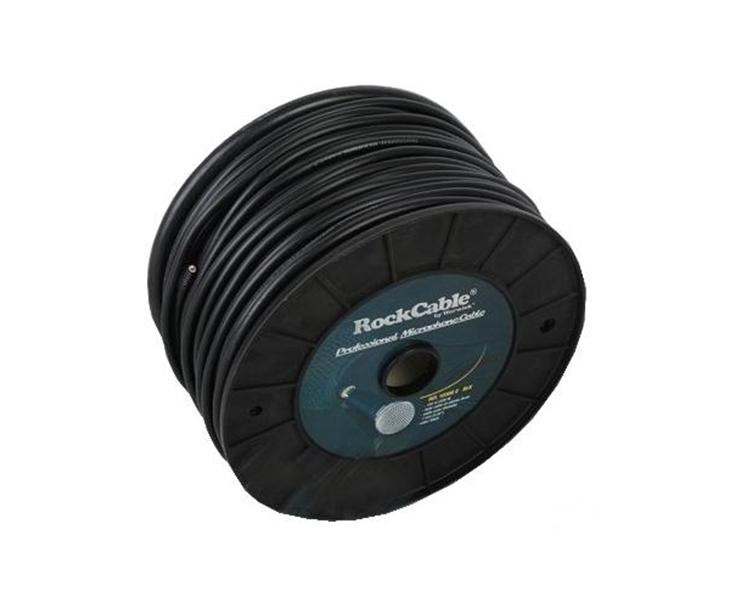 KABEL MIKROFONNI 100m,6mm,černý