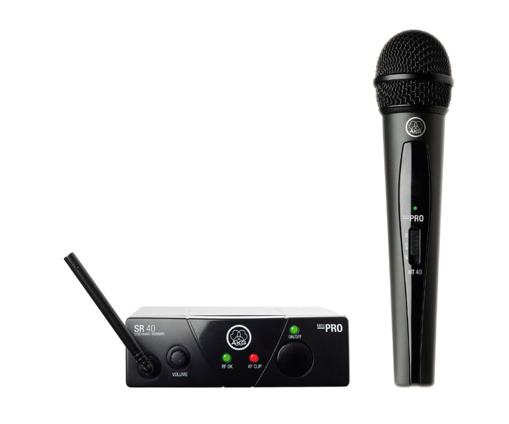 MIKROFON BD.-AKG WMS40MINI,Vocal set,1xHT40MINI