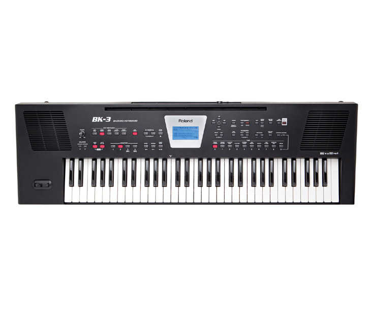 KEYBOARD-ROLAND BK3,BK,61 kláves,LCD
