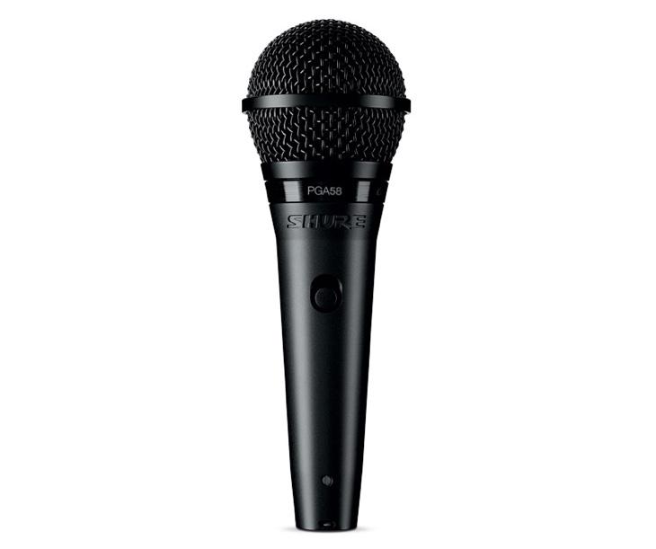 MIKROFON-SHURE PGA-58,zpěvový