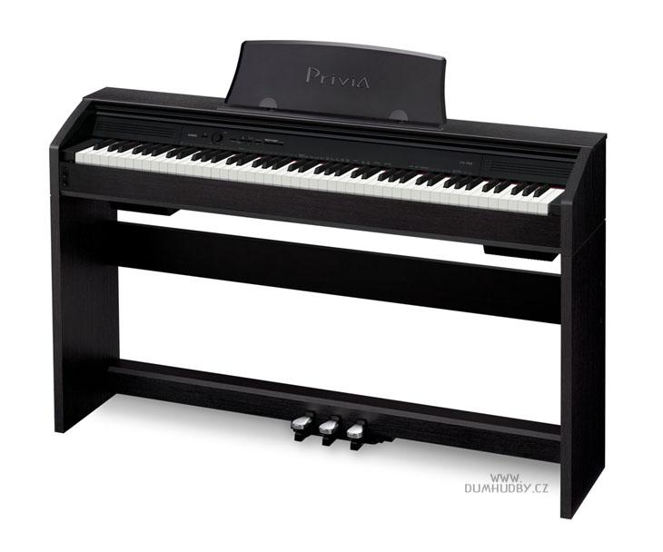 PIANO DIG.-CASIO PX-750-BK,PRIVIA