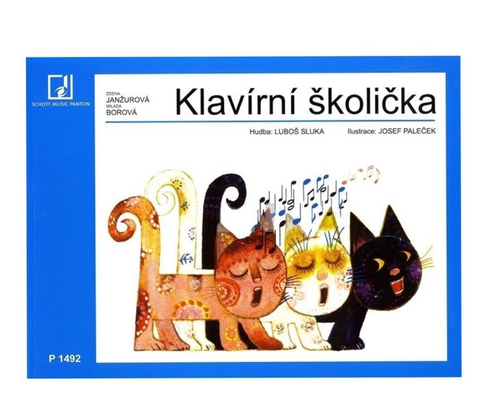 UCEB.-KLAVIR JANŽUROVá-Klavírní školička