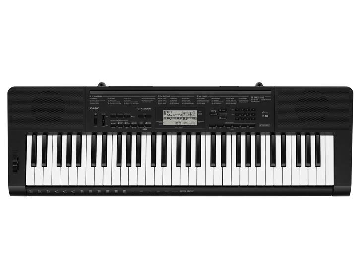 KEYBOARD-CASIO CTK-3500,5 okt.dyn.MIDI