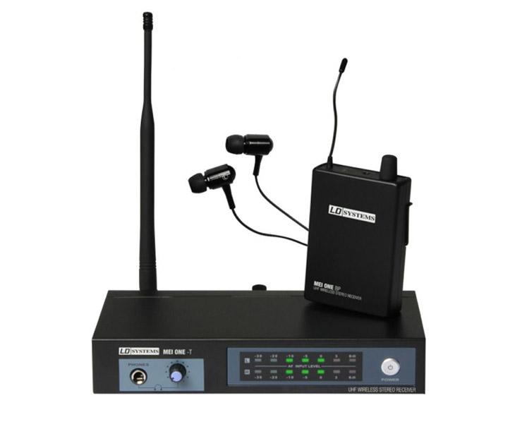 IN EAR MONITORING-LD SYSTEM set přijímač,vysílač