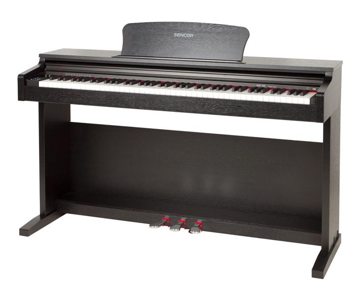 PIANO DIG.-SENCOR SDP200,černé
