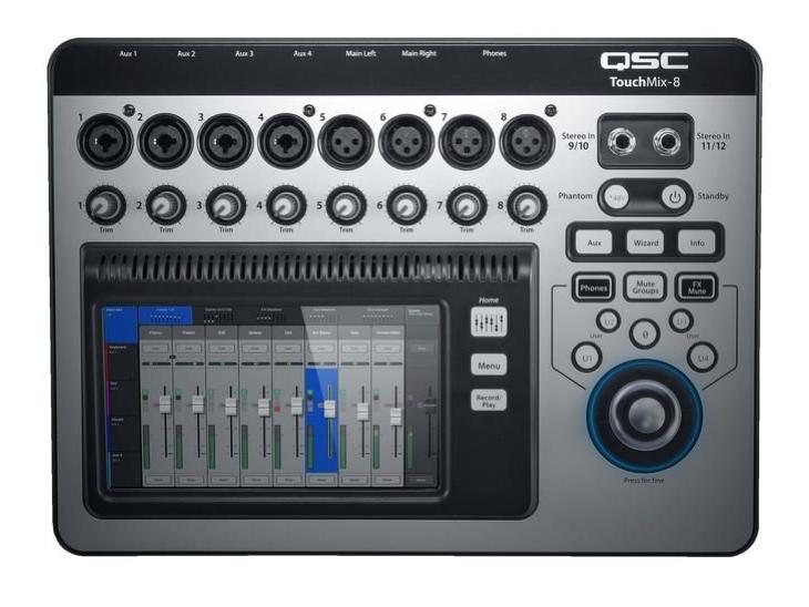 MIXPULT-QSC 8x mic.,2x st.