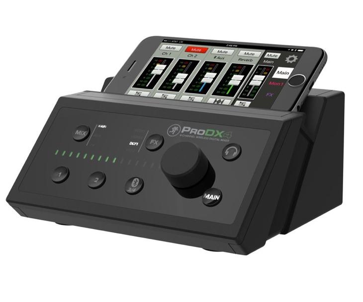 MIXPULT-MACKIE PRO DX4,Bluetooth