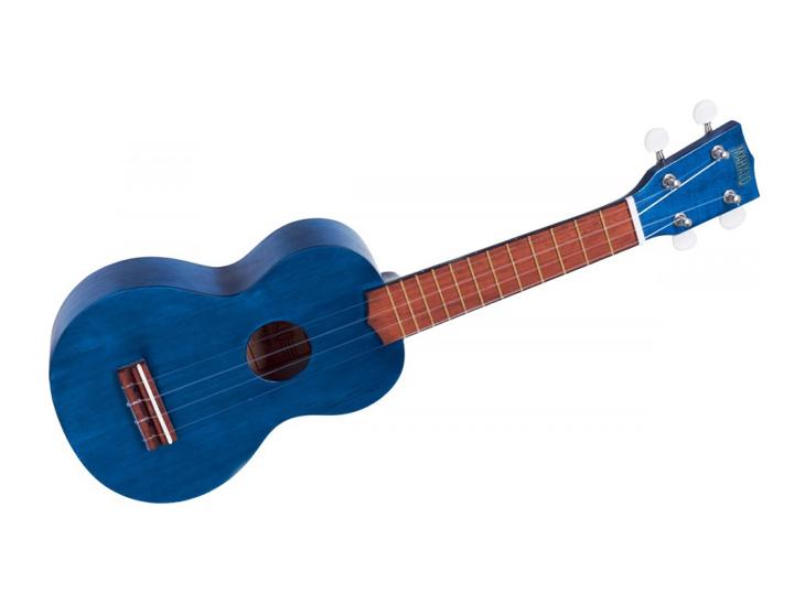 UKULELE-MAHALO SOPR.MK1-TBU,modré,vč. pouzdra